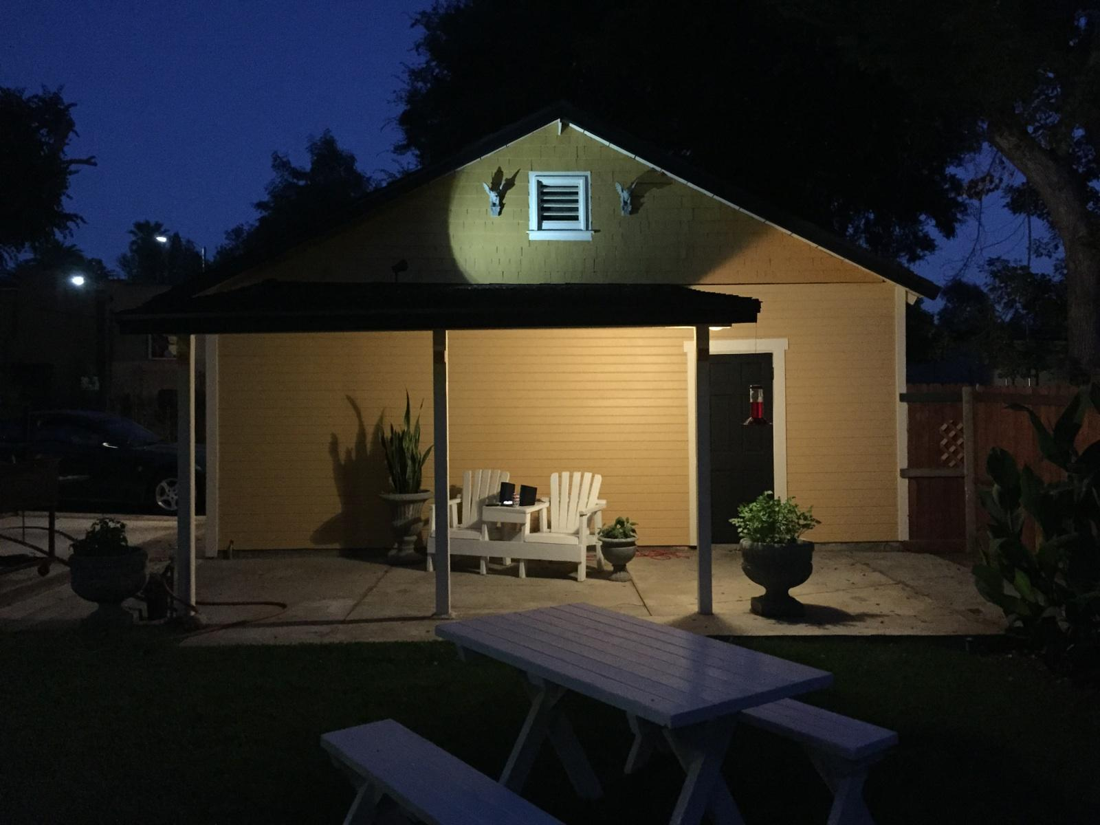 The Garage at Night